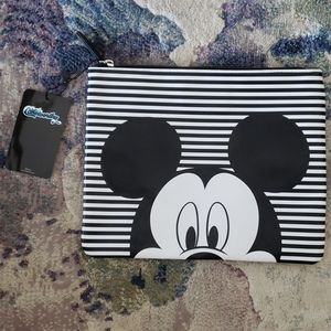 Cake worthy Mickey Mouse Striped Clutch